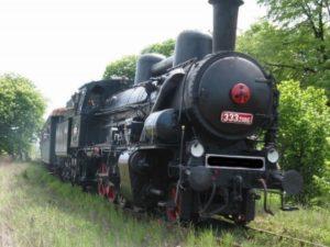 Historický parní vlak